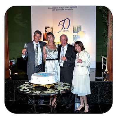 Comemoração dos 50 anos da Agristar, um marco para a empresa