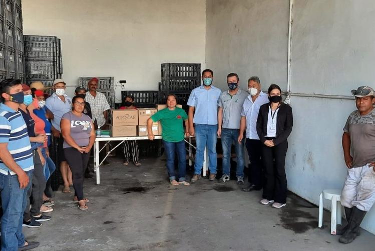 Doação de sementes de hortaliças dá novo recomeço a produtores rurais de Mogi das Cruzes (SP)