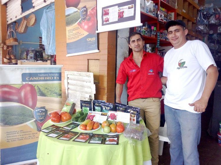 Feria Agro Gris en Coronel Oviedo