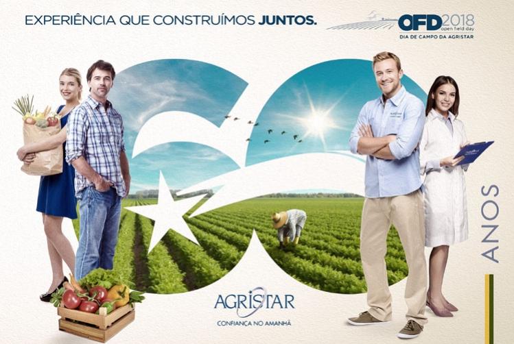Agristar comemora 60 anos e apresenta nova estrutura durante o Open Field Day  2018