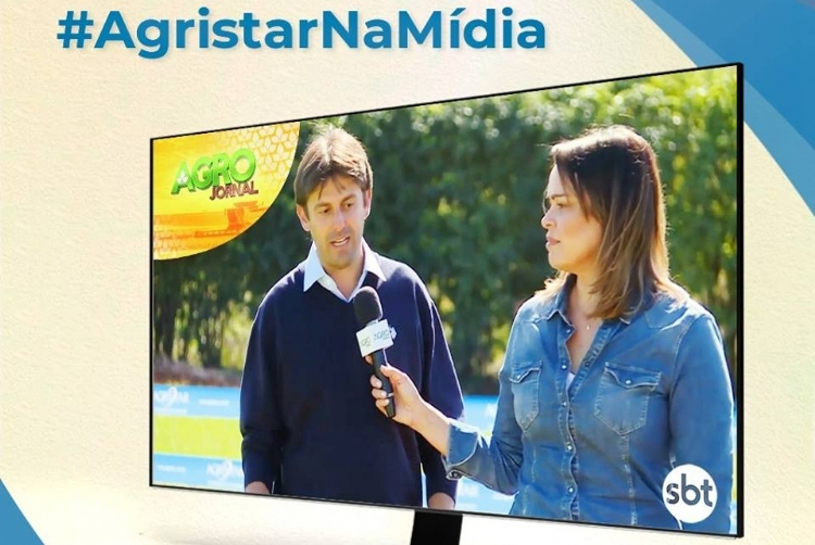 Agristar no Agrojornal do SBT