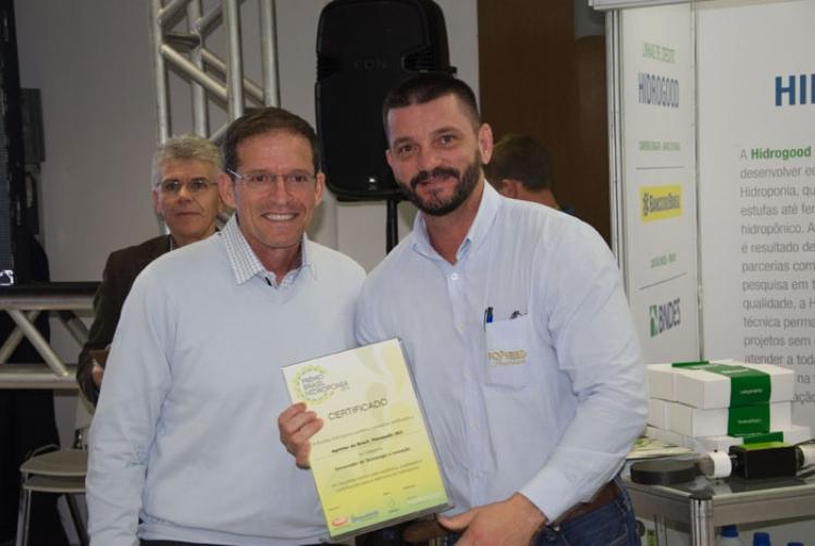 Agristar recebe Prêmio Brasil de Hidroponia
