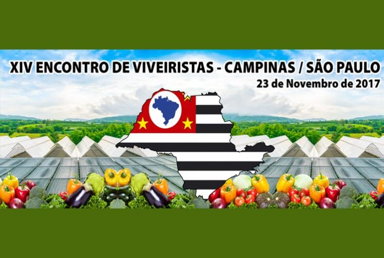 CONVITE: XIV ENCONTRO DE VIVEIRISTAS - CAMPINAS/SP