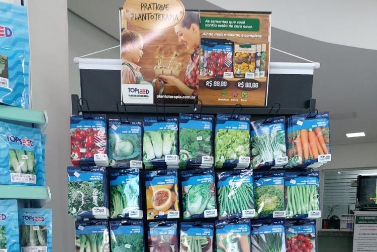 Cresce o cultivo doméstico de plantas e a Topseed Garden se apresenta com uma das linhas mais completas do mercado