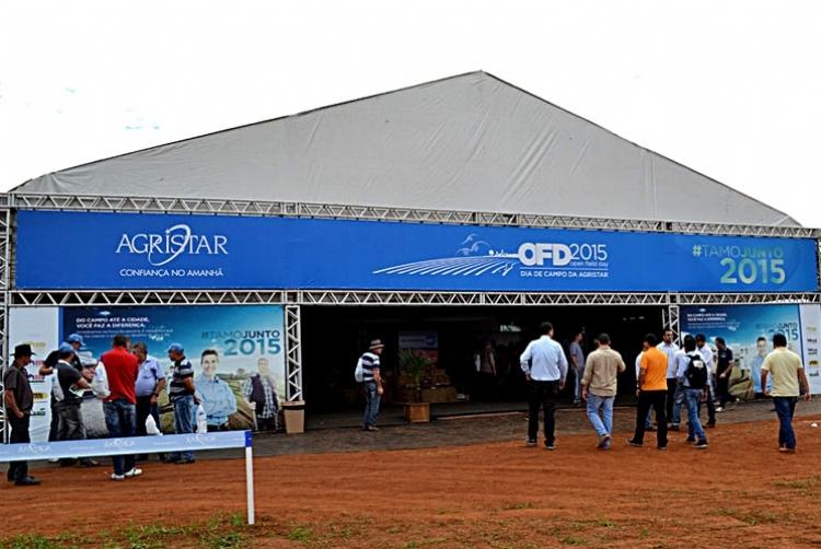 ASSISTA AO V�DEO - Dia de Campo da Agristar atrai mais de 3 mil participantes durante a Hortitec