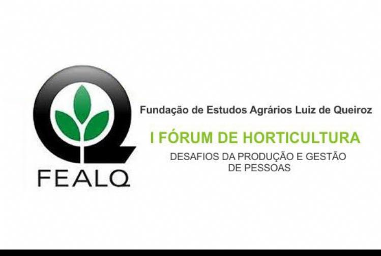I Fórum de Horticultura: Desafios da Produção e Gestão de Pessoas