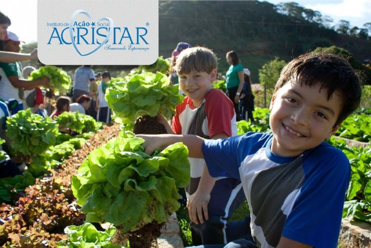 Instituto Agristar - Projeto Horta Escola