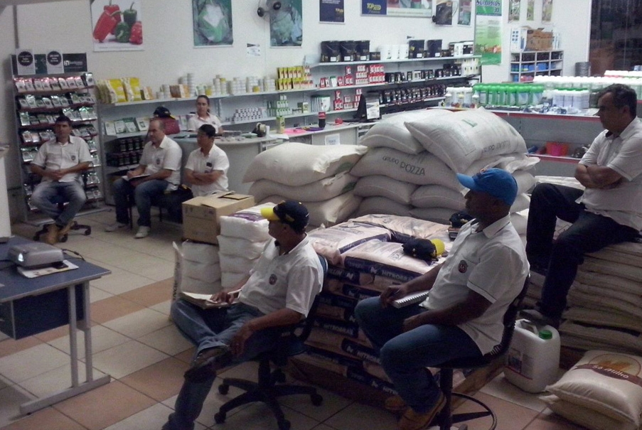Treinamento sobre cebolas híbridas em Piedade (SP)