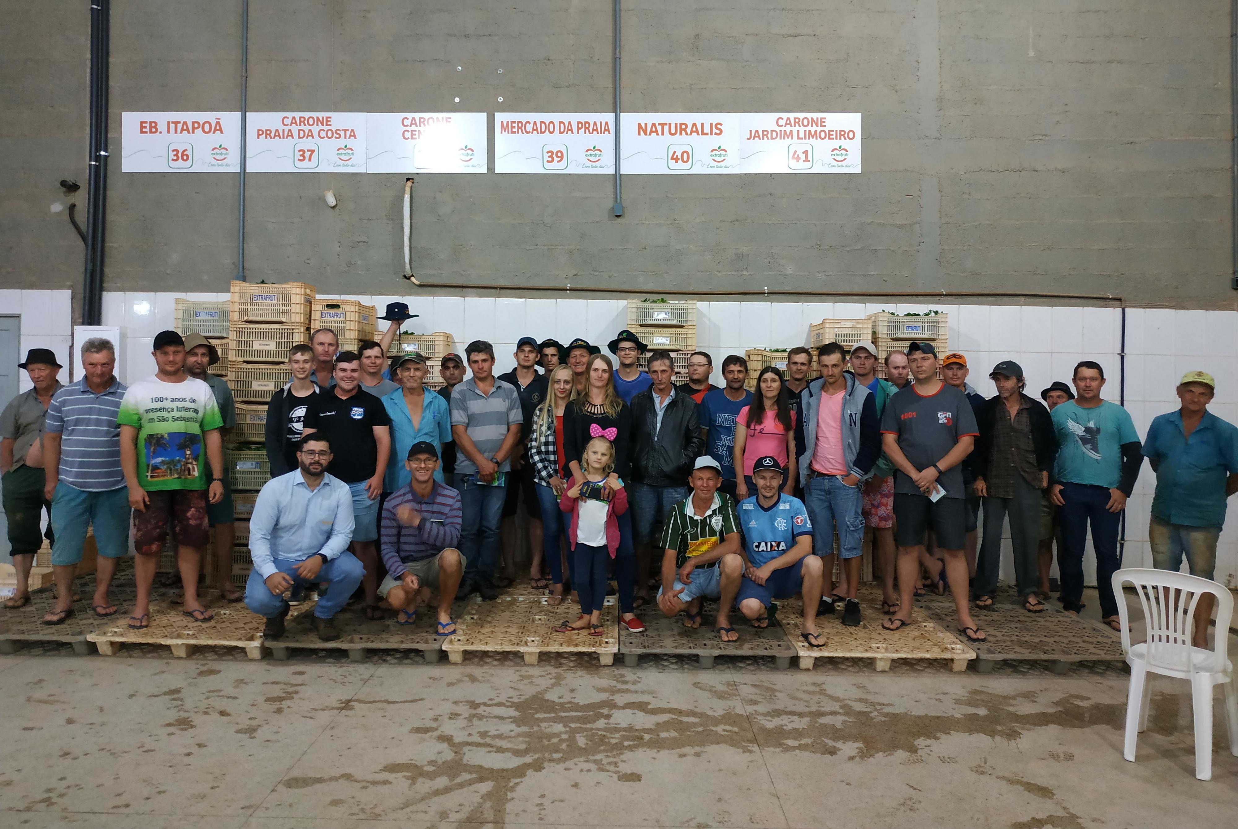 Equipe Topseed Premium esteve em Santa Maria de Jetibá (ES) falando de brássicas e folhosas