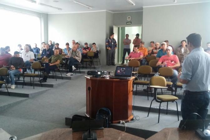 Abóboras Topseed Premium são tema de palestra em Ibian (SC)