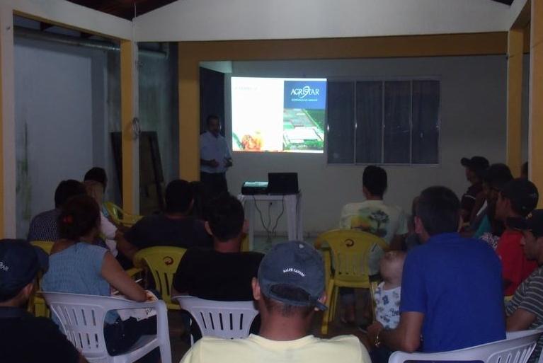 Tomate Candieiro é destaque em palestra realizada em Lajeado Novo (MA)