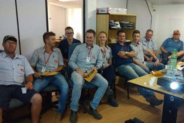 Treinamento técnico na Agrosul de Feliz (RS)