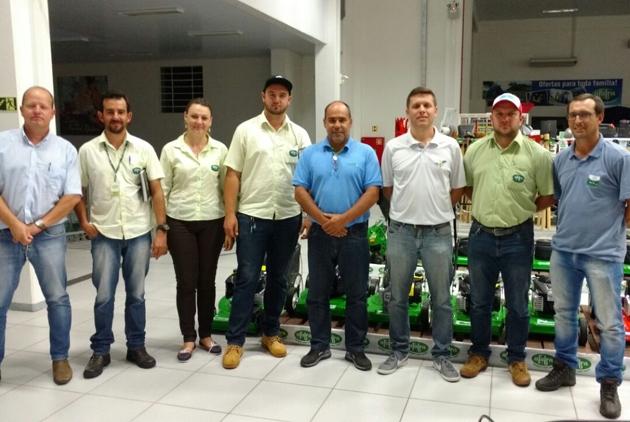treinamento para filial da Afubra em Venâncio Aires (RS)