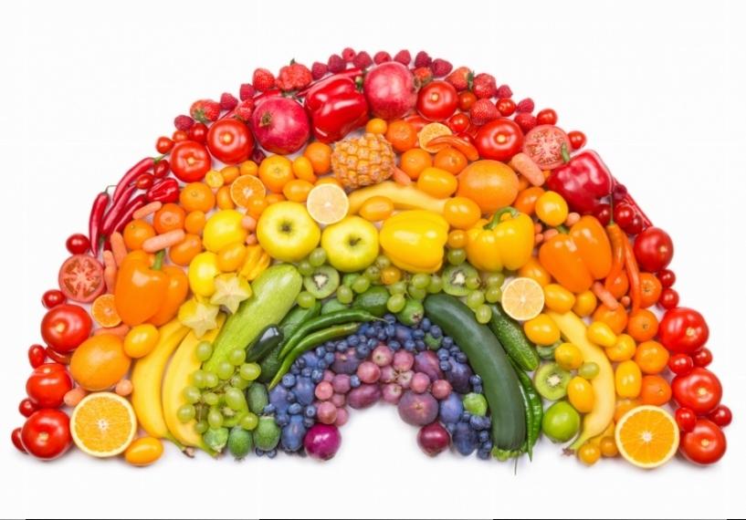 Você sabia que podemos identificar os nutrientes por meio das cores de cada alimento?