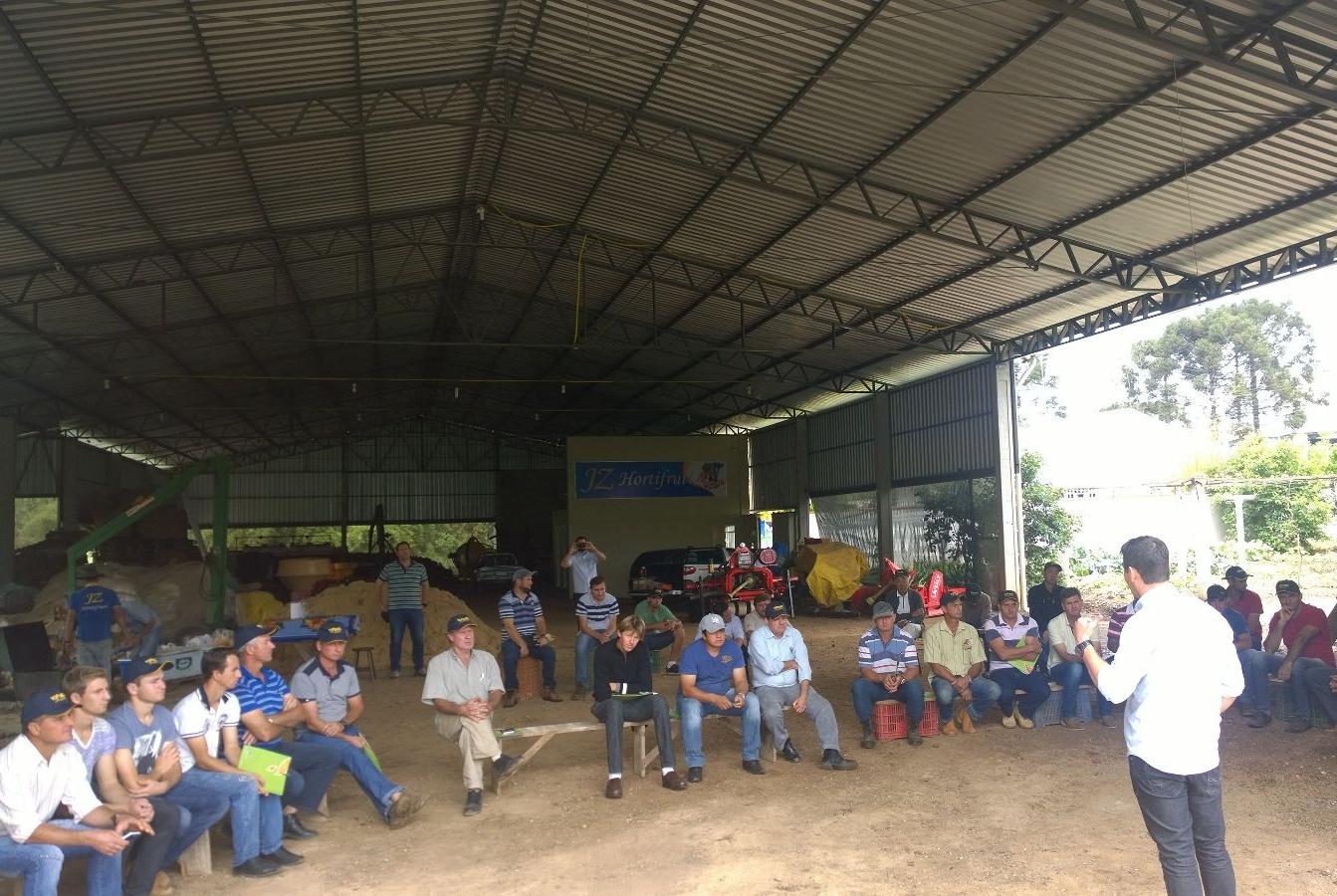 Dia de Campo sobre cebolas TP em Irineópolis (SC)