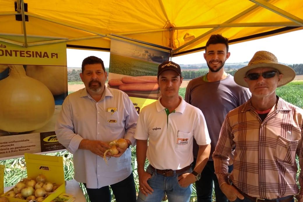 Itobi (SP) tem Dia de Campo sobre a cebola híbrida Montesina