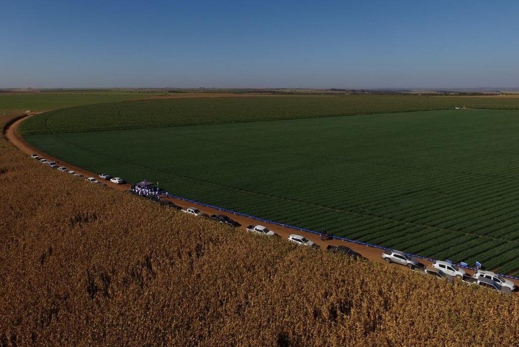 2º ENCOTEC promoveu rally em campos de cebola e cenoura de Minas Gerais