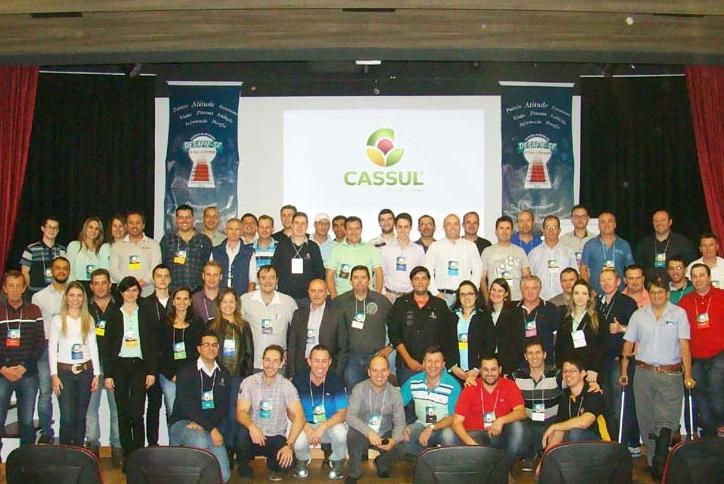 """Agristar participa da """"Convenção de Vendas Cassul"""" em Erechin (RS)"""