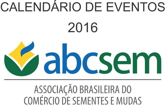 Calendário de Eventos 2016 - ABCSEM