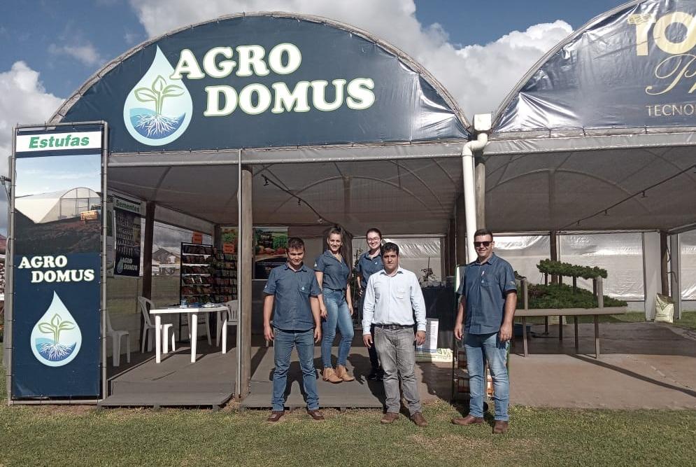 Equipe Topseed Premium esteve no Show Rural Coopavel 2020