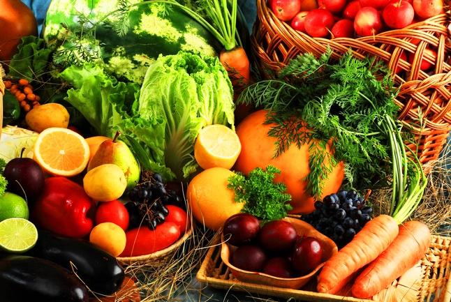 Legumes e verduras são ricos em vitaminas, minerais e fibras!