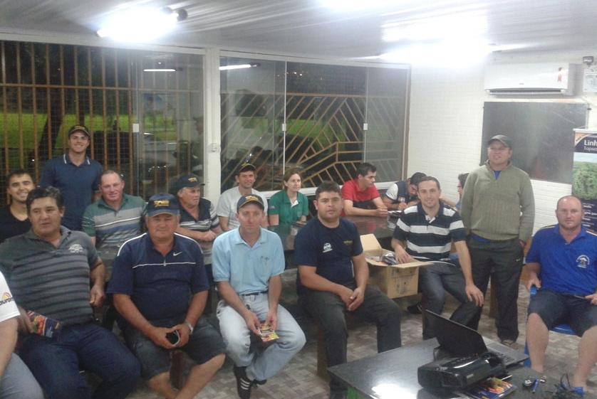 Palestra sobre os produtos Topseed Premium em Chapecó-SC