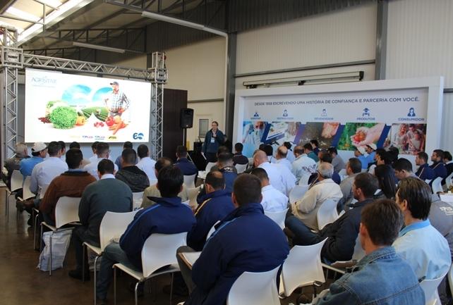 Técnicos de todo o Brasil se reuniram para treinamentos em campo e excelência em vendas