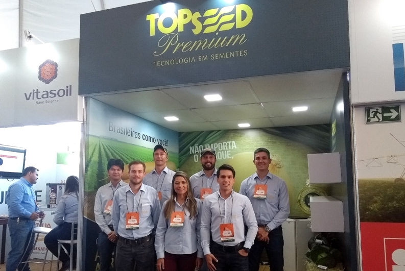 Topseed Premium expõe na Fenacampo 2018