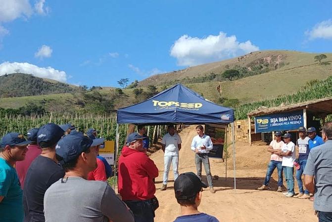 Topseed Premium promove Dia de Campo em Paty do Alferes (RJ)