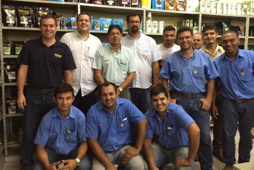 Topseed Premium realiza treinamento sobre os principais produtos de sua linha