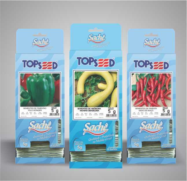 Topseed Sachê ganha novas variedades
