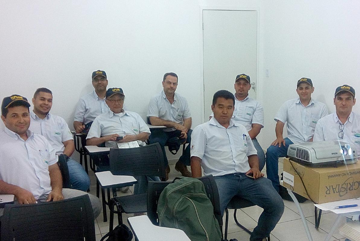 Treinamento da equipe Agifértil