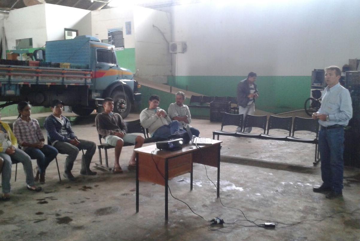 Treinamento em Camucim/PE