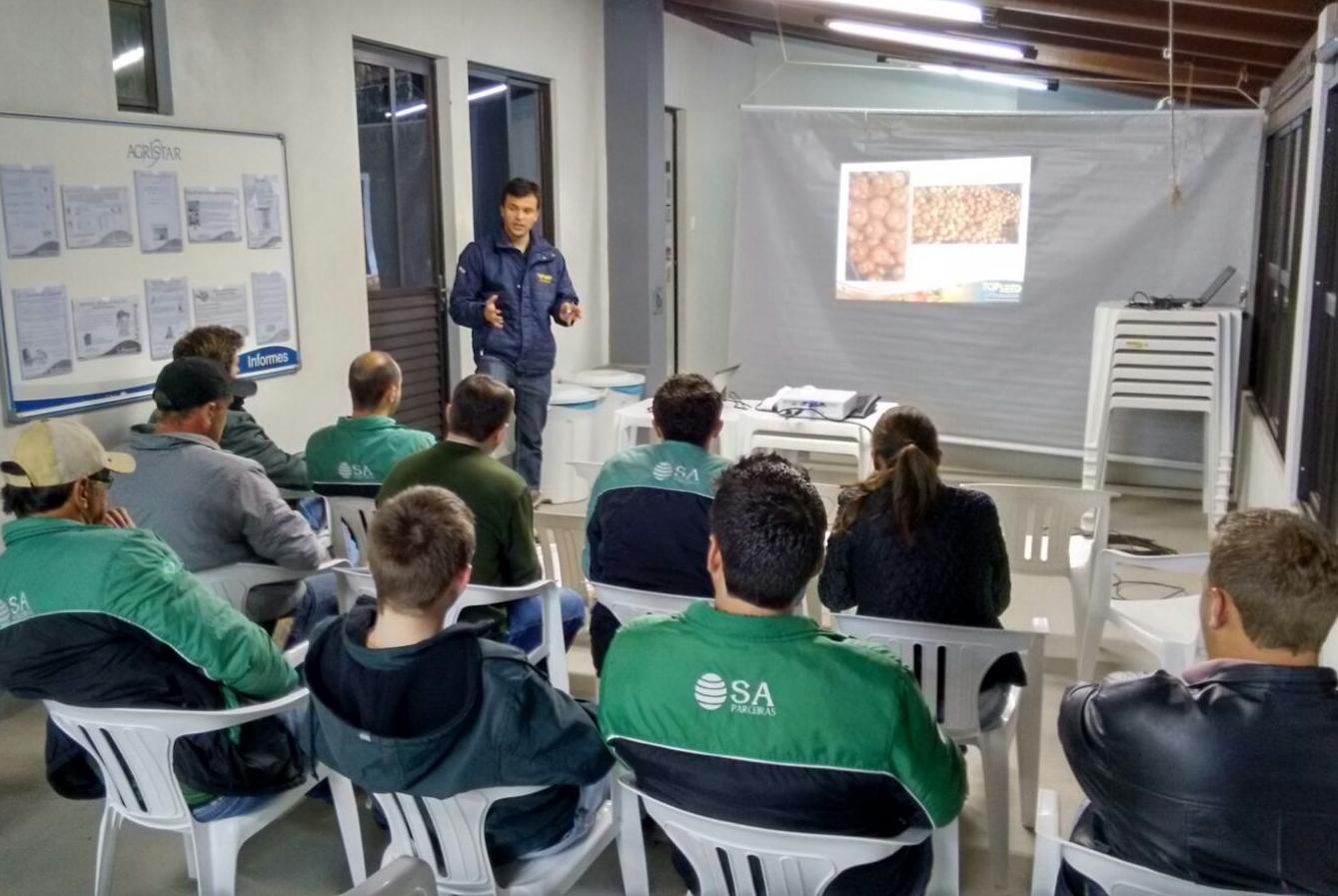 Treinamento em Santa Catarina