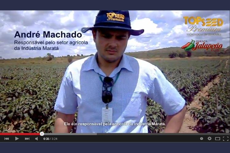 Vídeo depoimento sobre a Pimenta Jalapeno Plus F1