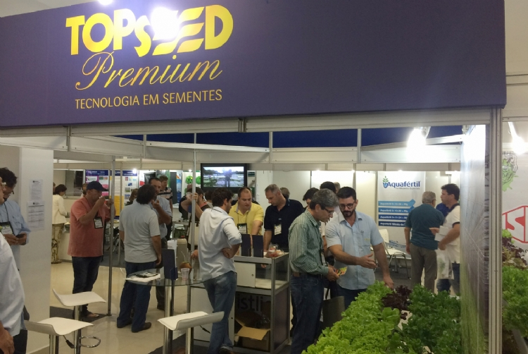 Topseed Premium participa do 10� Encontro Brasileiro de Hidroponia