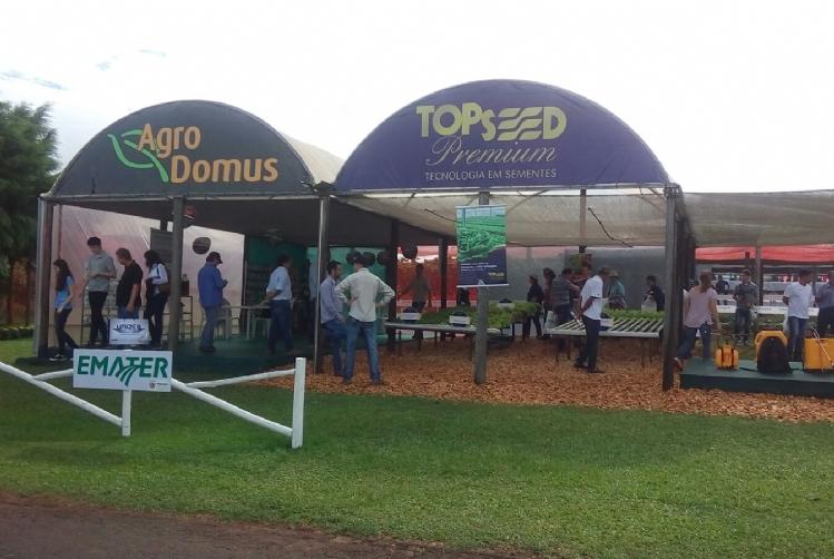 Topseed Premium participa do 28� Show Rural Coopavel