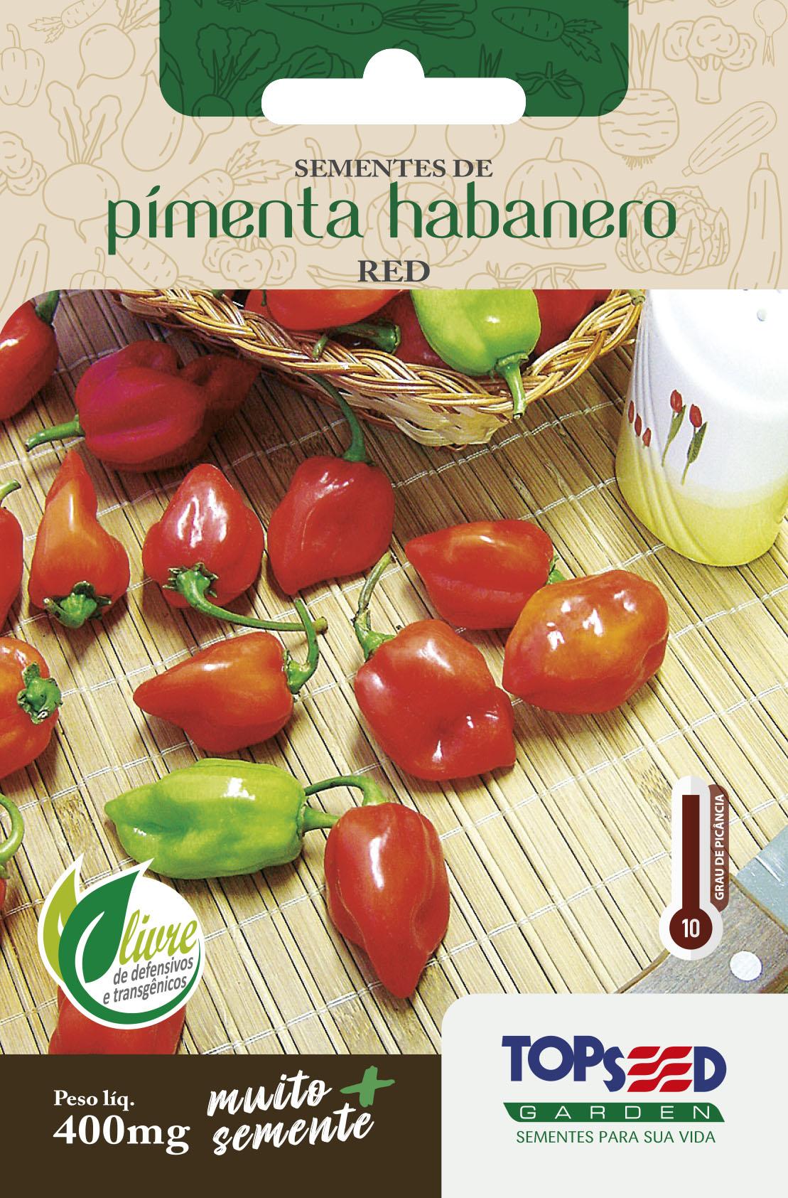 PIMENTA HABANERO RED