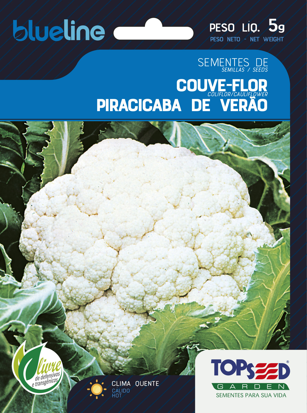 COUVE-FLOR PIRACICABA DE VERÃO
