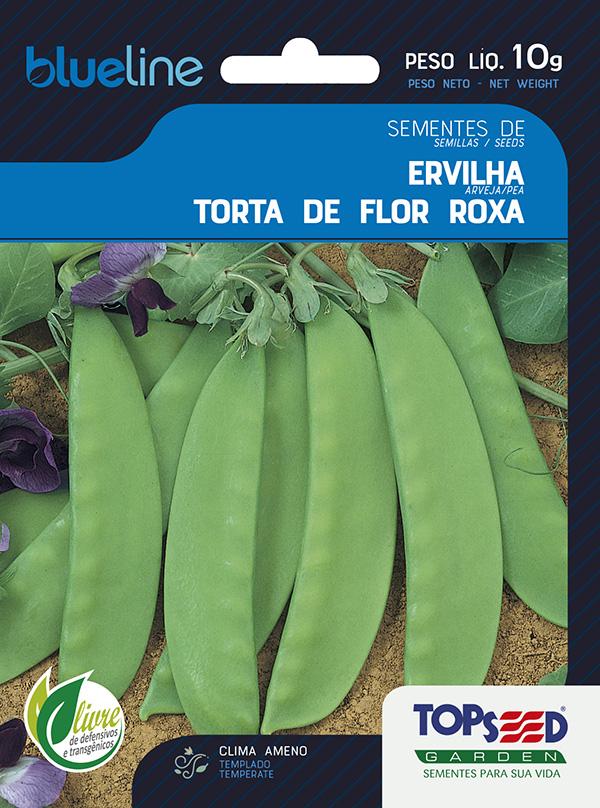 ERVILHA TORTA DE FLOR ROXA