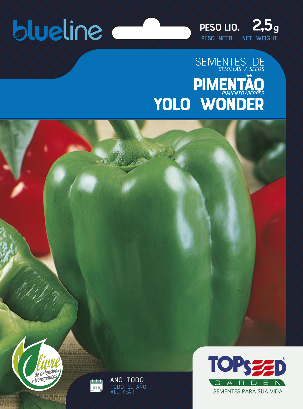 PIMENTÃO YOLO WONDER