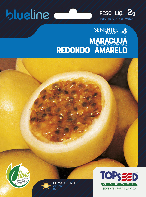 MARACUJÁ REDONDO AMARELO