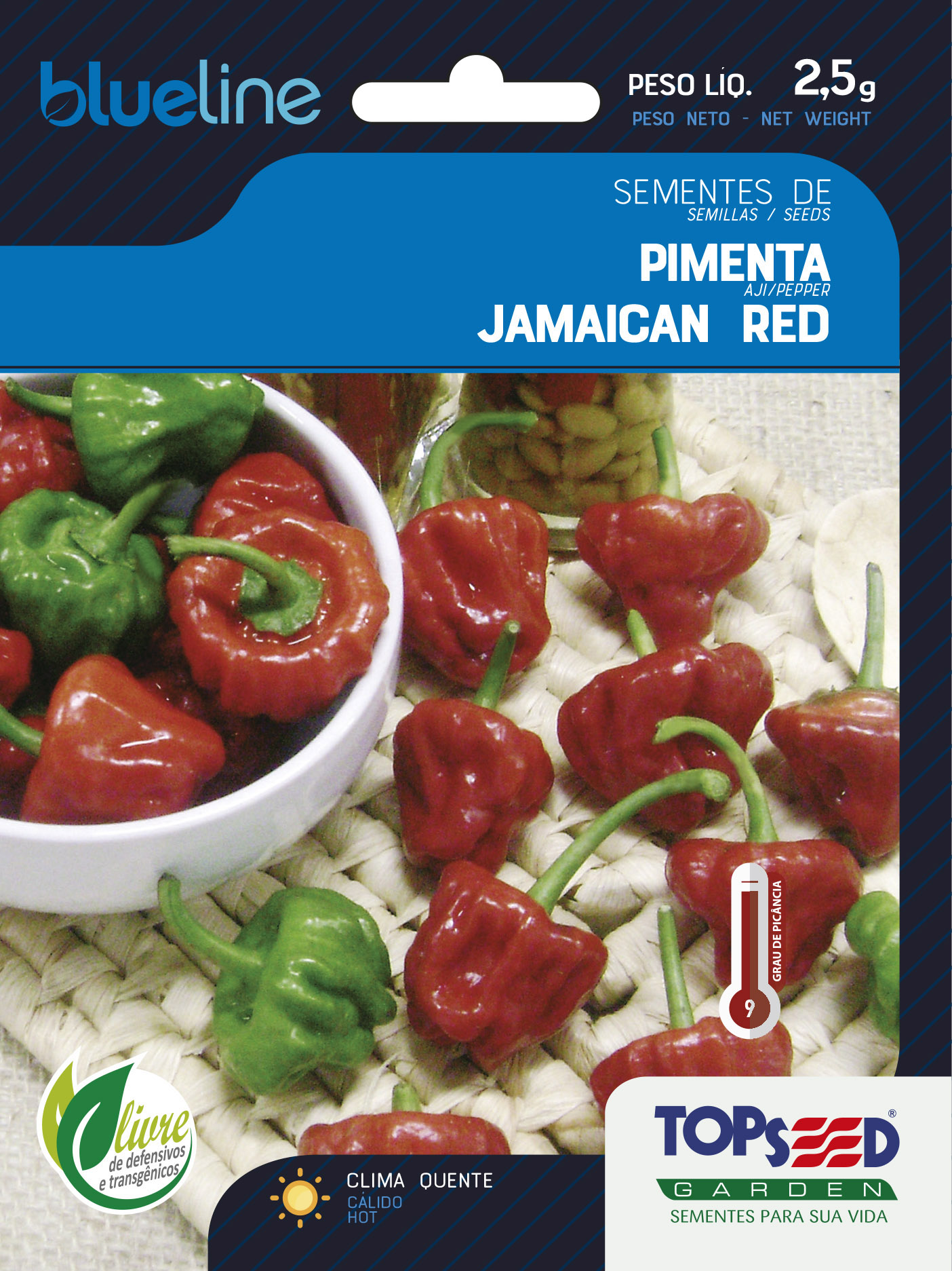 PIMENTA JAMAICAN RED