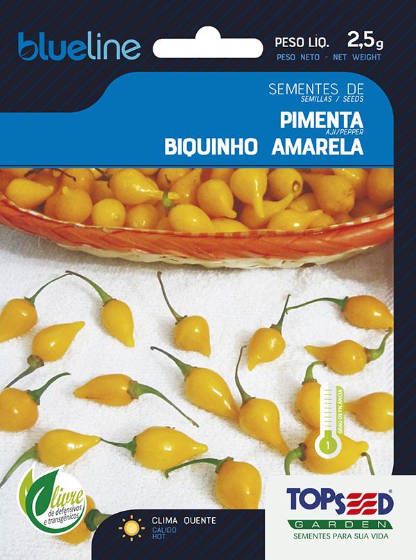 PIMENTA BIQUINHO AMARELA