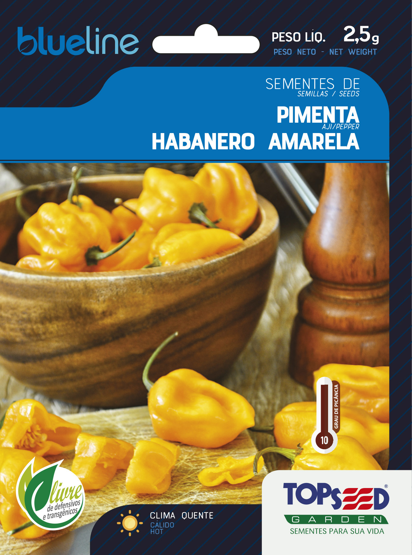 PIMENTA HABANERO AMARELA